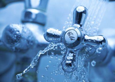 Een waterleidingbedrijf
